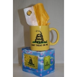 Gadsden Yellow Mug w/Flag