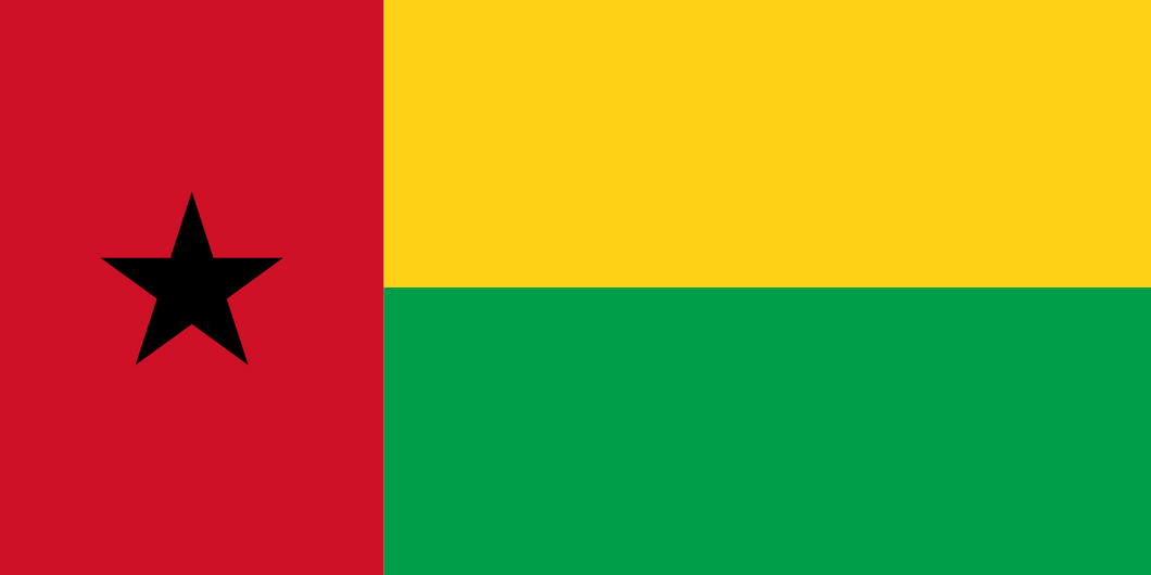 Guinea-Bissau Flag 3x5ft Poly