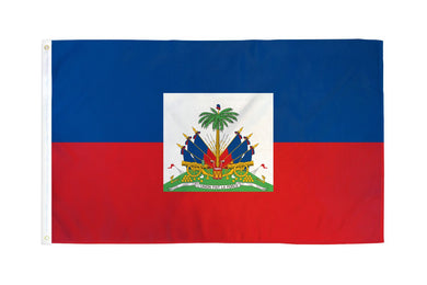 Haiti Flag 3x5ft Nylon 210D