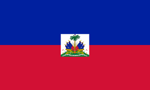 Haiti Flag 3x5ft Poly