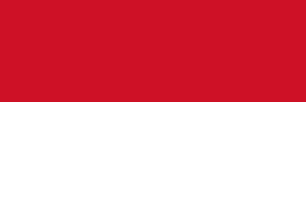 Indonesia Flag 3x5ft Poly