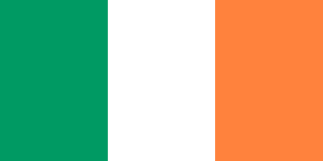 Ireland Flag 3x5ft Poly