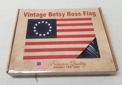 Vintage Betsy Ross Flag- 3'X5' Rough Tex® 420D