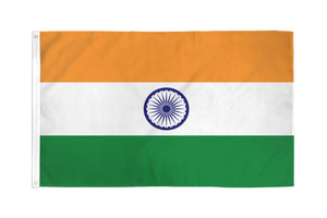 India Flag 3x5ft Nylon 210D