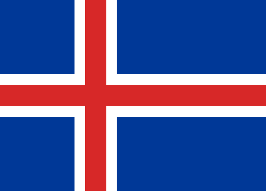 Iceland Flag 3x5ft Poly