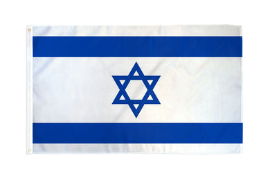 Israel Flag 3x5ft Nylon 210D Double Sided