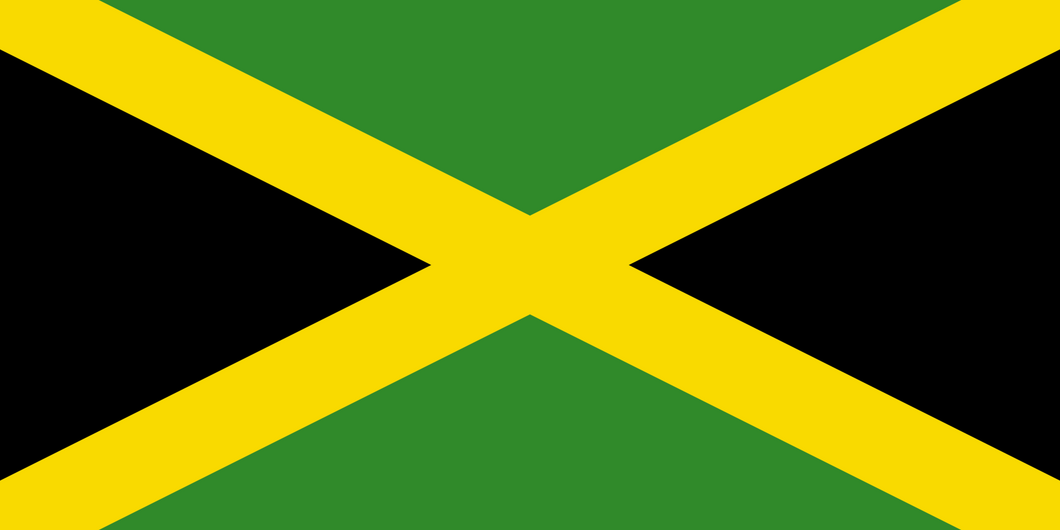 Jamaica Flag 3x5ft Poly
