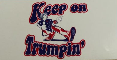 KEEP ON TRUMPIN' DONALD TRUMP BUMPER STICKER PACK OF 50 MAGA