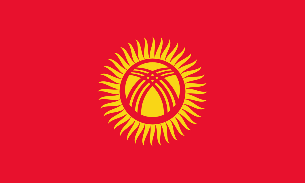 Kyrgyzstan Flag 3x5ft Poly