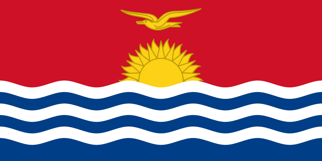Kiribati Flag 3x5ft Poly