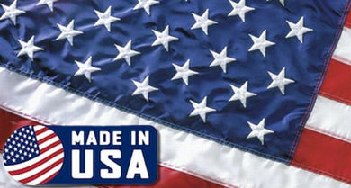 12 MADE IN USA ANNIN 3'X5' NYLON EMBROIDERED STARS SEWN STRIPES AMERICAN FLAGS FLAGS BY THE DOZEN WHOLESALE PER DESIGN!
