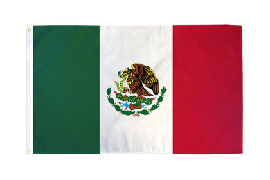Mexico  Flag 3x5ft Nylon 210D Double Sided