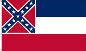 Mississippi 4'X6' Flag Rough Tex® 150D Nylon
