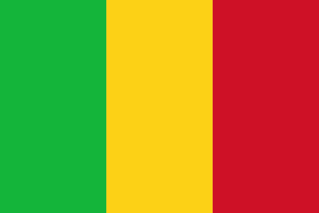 Mali Flag 3x5ft Poly