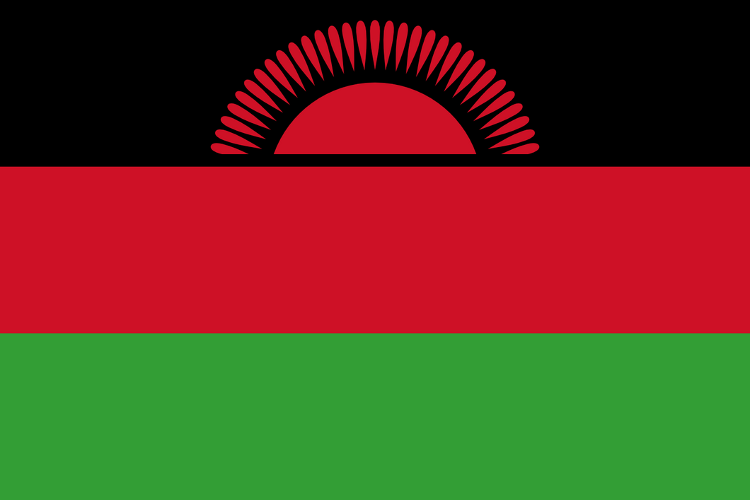 Malawi Flag 3x5ft Poly
