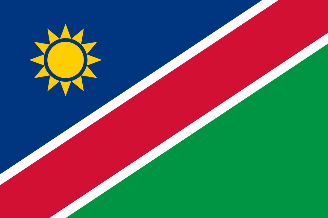 Namibia Flag 3x5ft Poly
