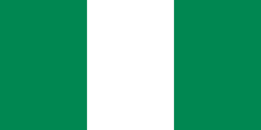 Nigeria Flag 3x5ft Poly