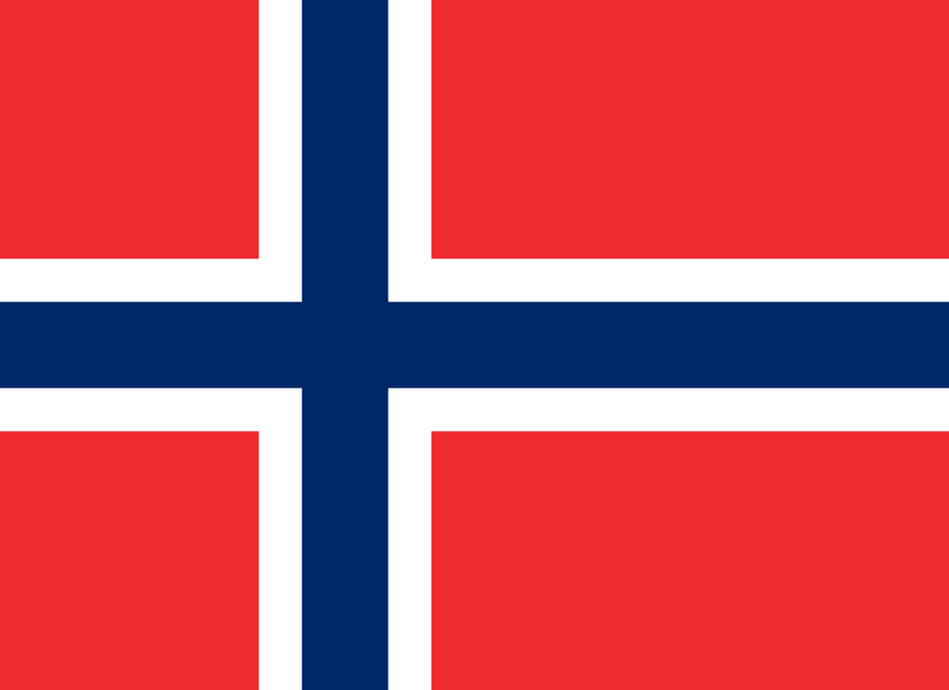 Norway Flag 3x5ft Poly