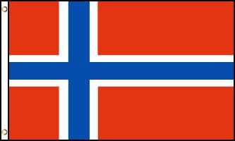 Norway Flag 3x5ft Nylon 210D