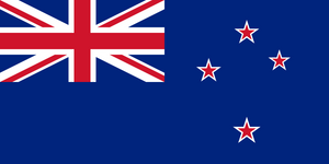 New Zealand Flag 3x5ft Poly
