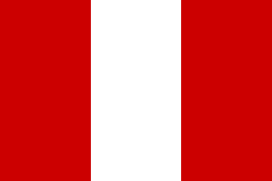 Peru Flag 3x5ft Poly