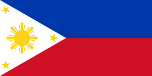 Philippines Flag 3x5ft Poly