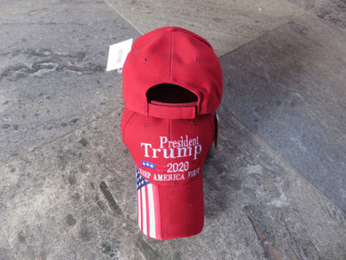 * IN STOCK* President Trump 2020 Keep America First KAF USA Bill Red  - Cap