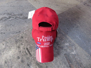 *COMING APRIL 14th*  President Trump 2020 Keep America First KAF USA Bill Red  - Cap