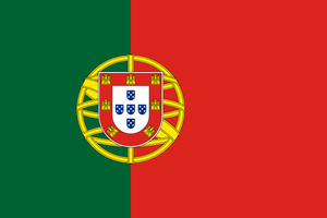 Portugal Flag 3x5ft Poly
