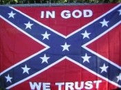 In God We Trust Rebel 3'x5' polyester