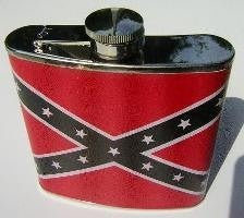 REBEL LEATHER FLASK