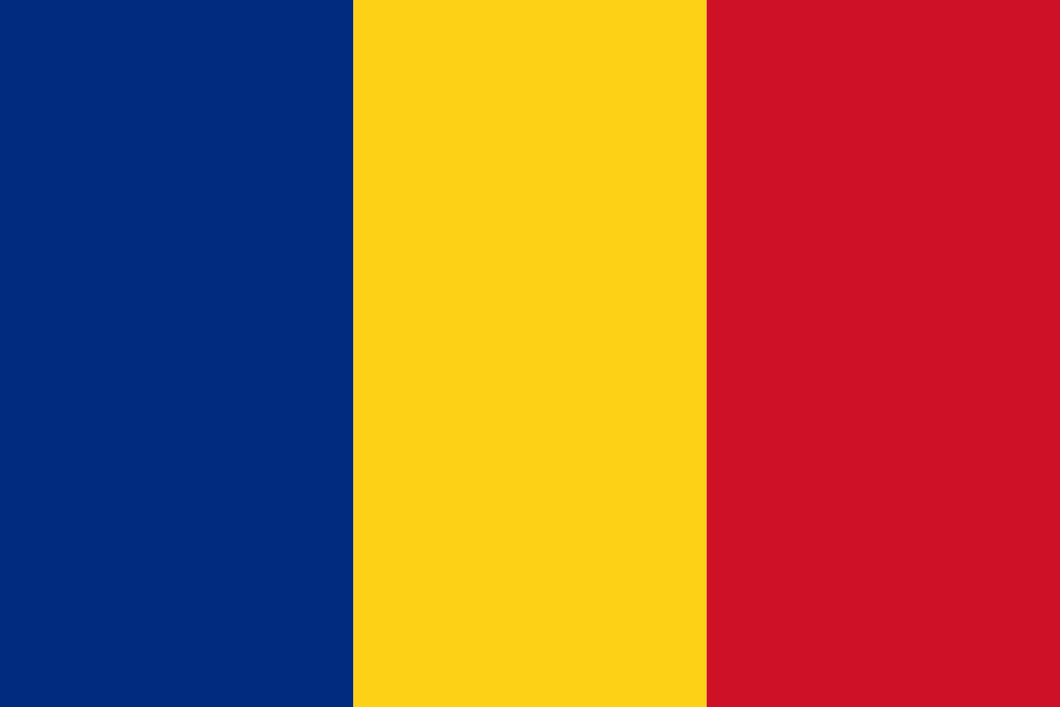 Romania Flag 3x5ft Poly