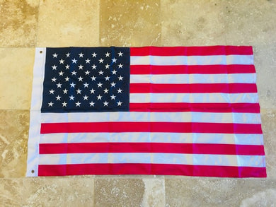 12 3X5 USA AMERICAN 210D U.S. NYLON FLAGS EMBROIDERED STARS SEWN STRIPES SOLD BY THE DOZEN