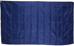 Royal Blue Flag Solid Color 3x5ft 210D Nylon