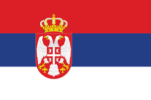 Serbia Flag 3x5ft Poly