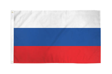 Russia Flag 3x5ft Nylon 210D
