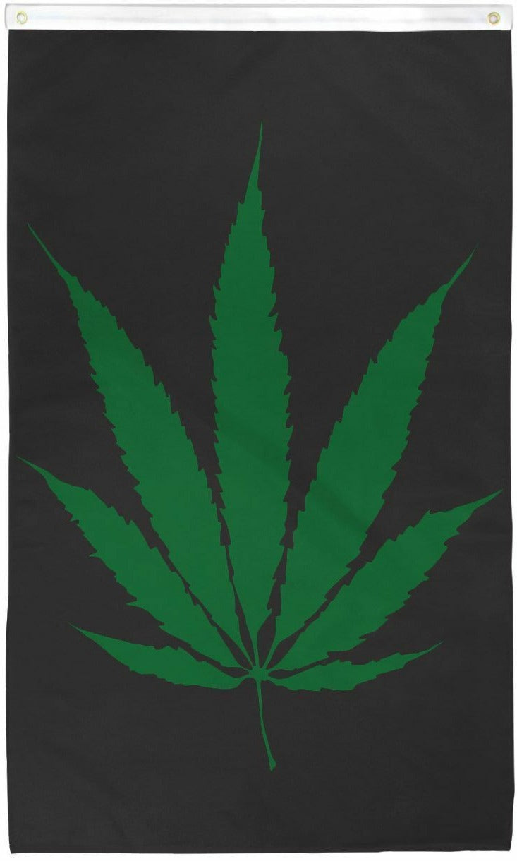 Plain Leaf 3'X5' Flag Rough Tex® Polyester