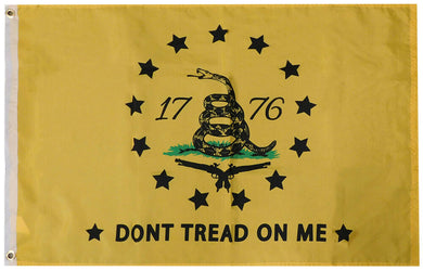 1776 GADSDEN 13 STARS COLONIAL AMERICAN FLAG  3'X5' Flag- Rough Tex ®100D