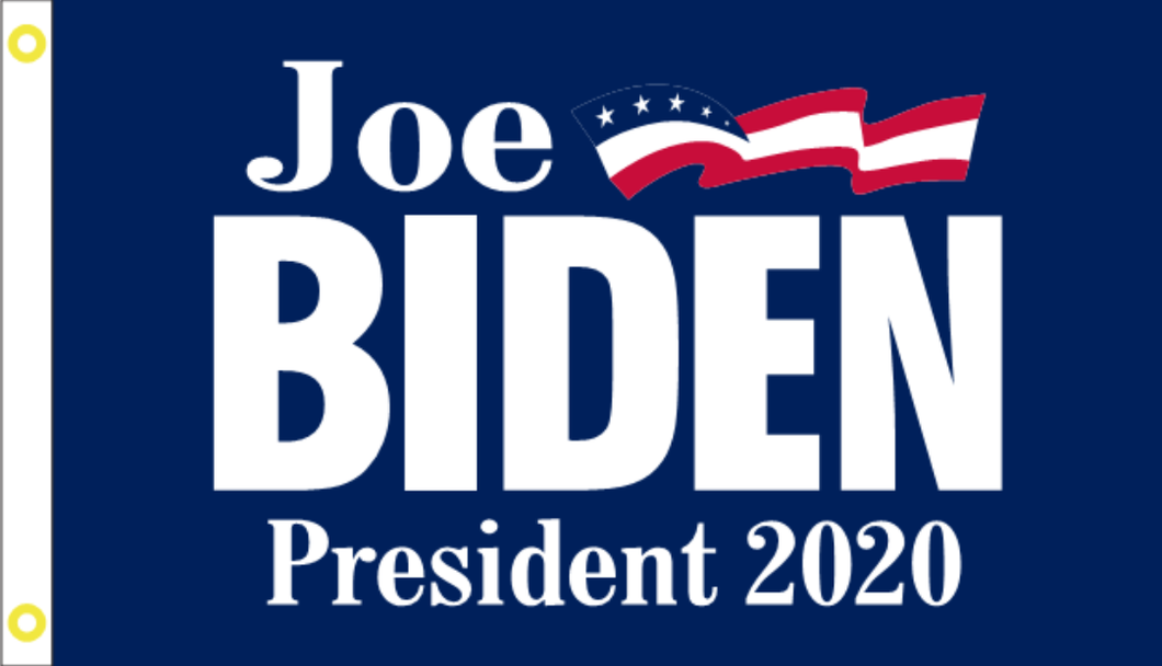 Joe Biden Democratic Party 2020 Presidential Blue Single Sided HUGE Flag Banner 4'X6' Rough Tex® 100D