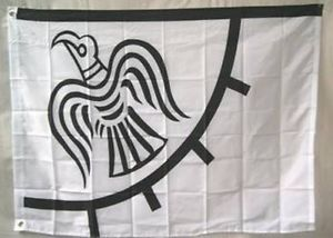 Viking Raven 3x5ft Nylon 150D Flag