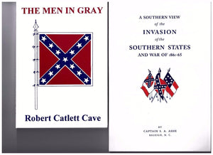 SOUTHERN VIEW OF THE INVASION OF THE CONFEDERATE STATES books one dozen