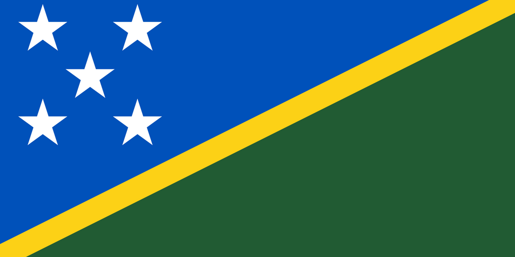 Solomon Islands Flag 3x5ft Poly