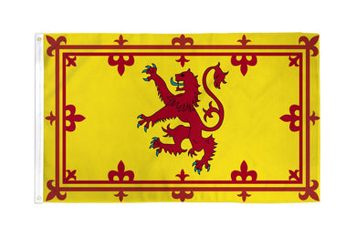 Scotland Lion Flag 3x5ft Nylon 210D
