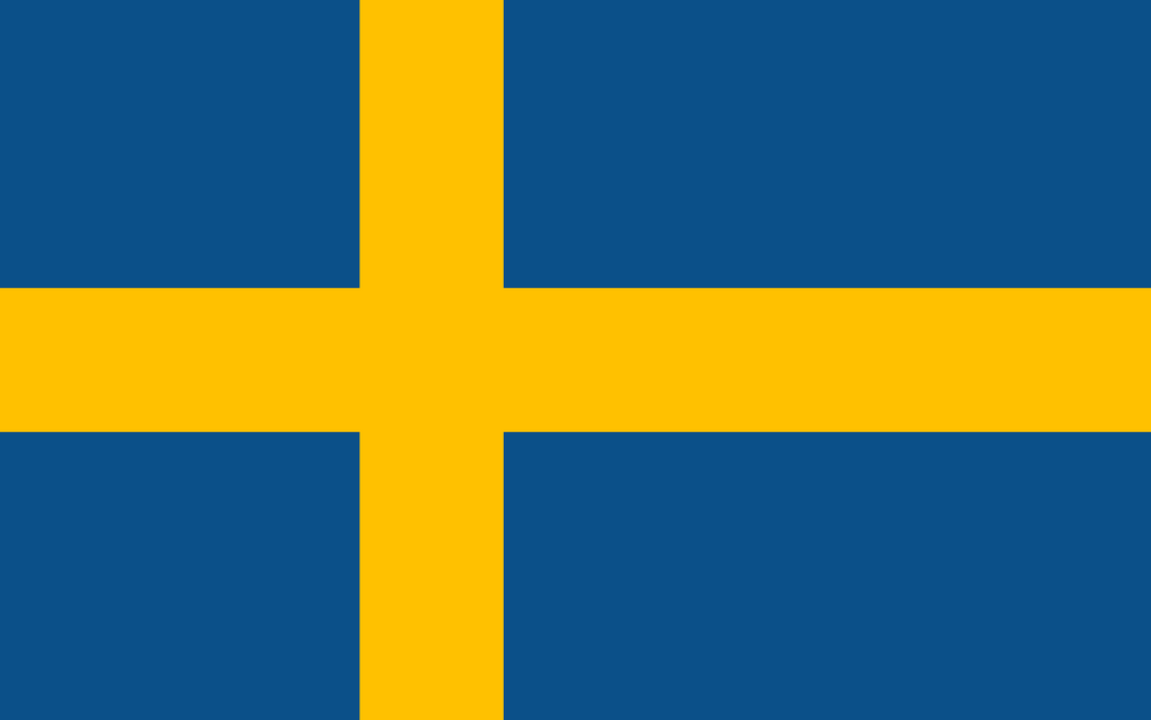Sweden Flag 3x5ft Poly