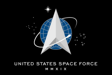 United States Space Force Single Sided Flag 3'X5' Rough Tex® 100D