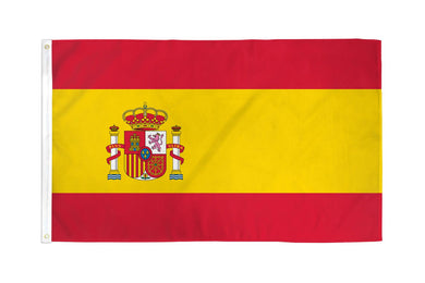 Spain Flag 3x5ft Nylon 210D Double Sided