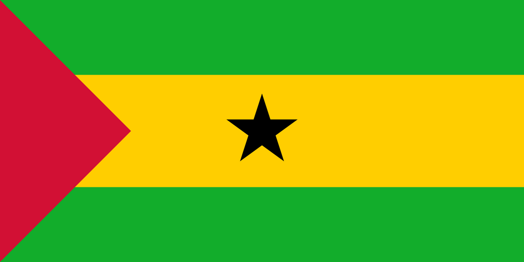 Sao Tome And Principe Flag 3x5ft Poly