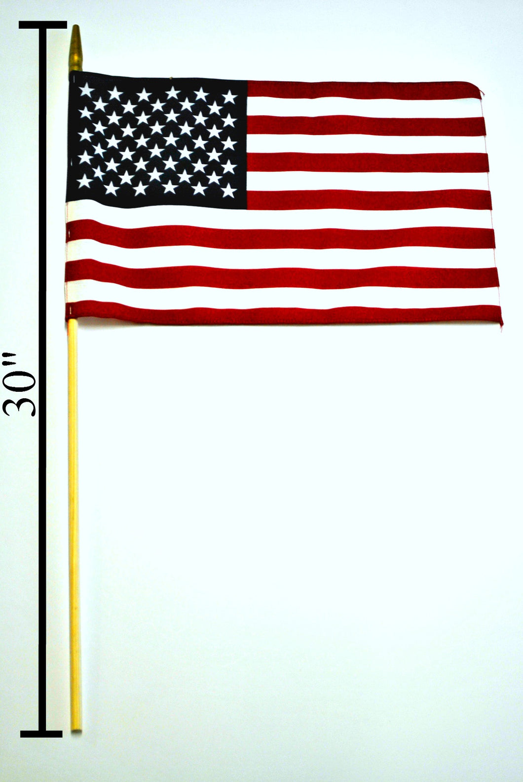 144 AMERICAN FLAG STICK FLAGS 12
