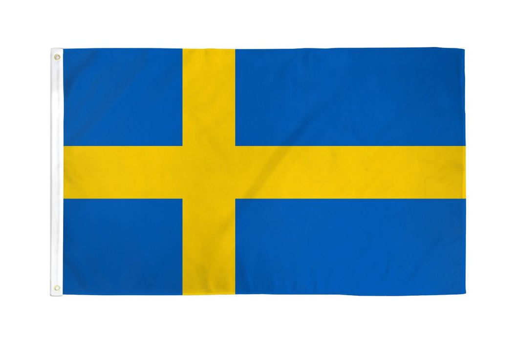 Sweden Flag 3x5ft Nylon 210D