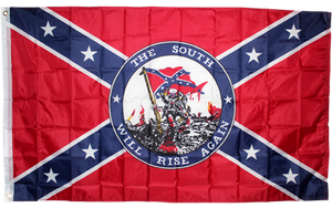 The South Will Rise Again 3'x5' polyester